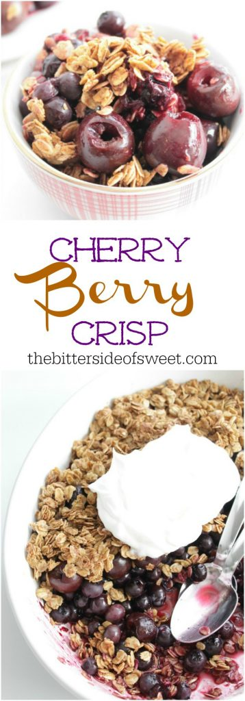 Cherry Berry Crisp | The Bitter Side of Sweet