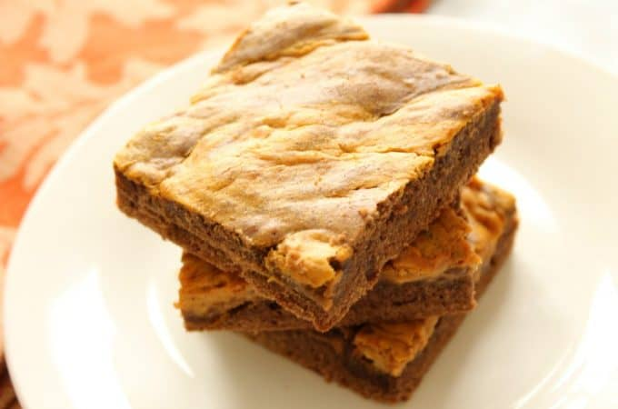 Pumpkin Cheesecake Brownie Bars | The Bitter Side of Sweet