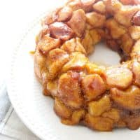 Maple Pumpkin Monkey Bread #PumpkinWeek