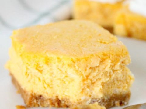 Pumpkin Cheesecake Bars The Bitter Side Of Sweet