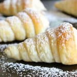Pumpkin Cream Horns | The Bitter Side of Sweet #pumpkin