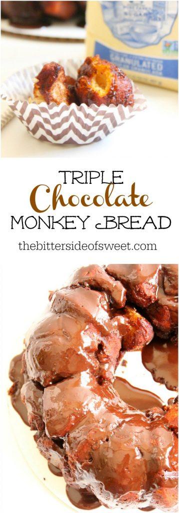 Triple Chocolate Monkey Bread
