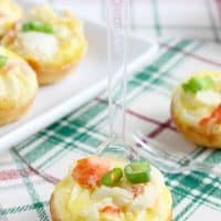 Mini Crab Quiche Tarts