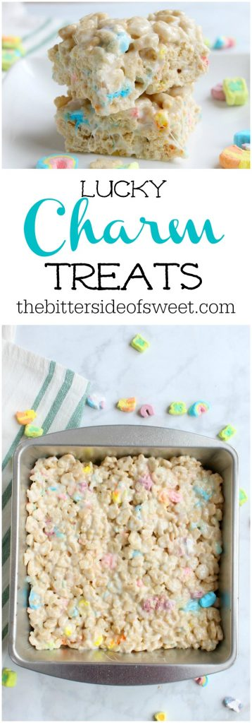 Charm Treats | The Bitter Side of Sweet #snacks #dessert #stpatricksday