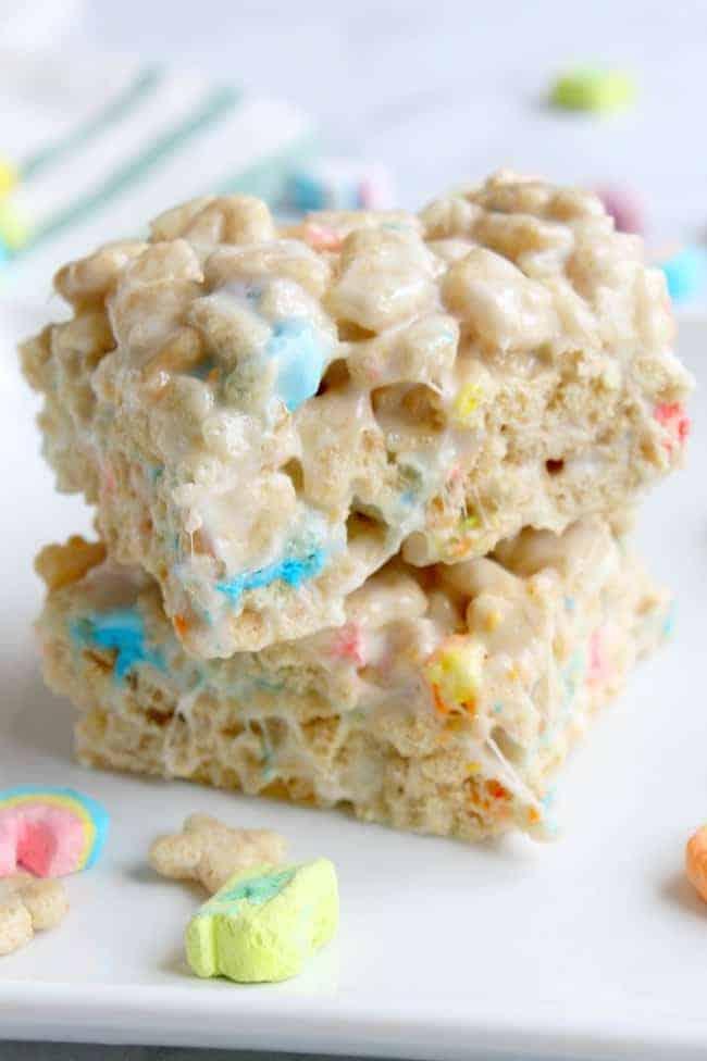 Charm Treats with marshmallows
