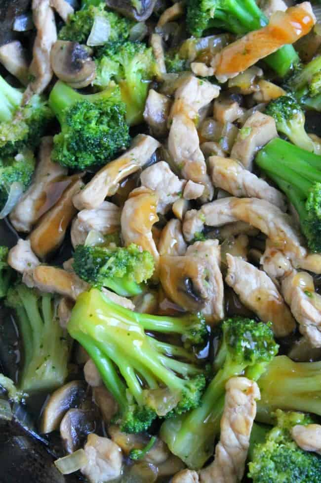 Broccoli Pork Stir Fry