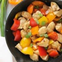 Italian Dressing Chicken Stir Fry