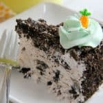Spring Oreo Ice Cream Cake