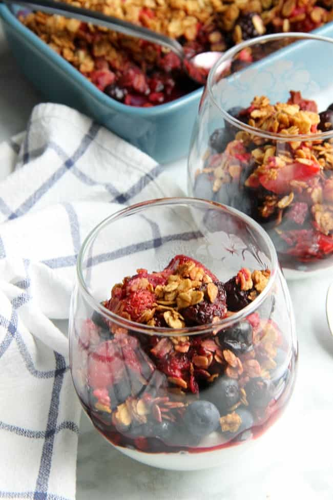 Mixed Berry Crisp Photo