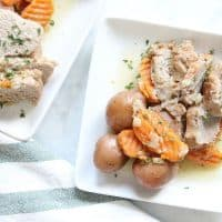 Instant Pot Pork Tenderloin with Potatoes and Carrots