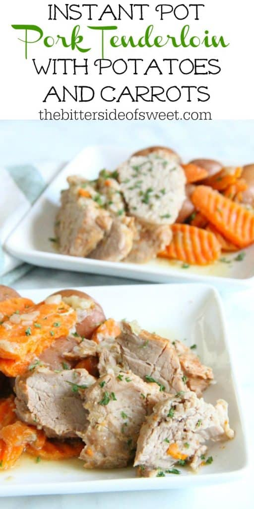 Instant Pot Pork with Potatoes and Carrots