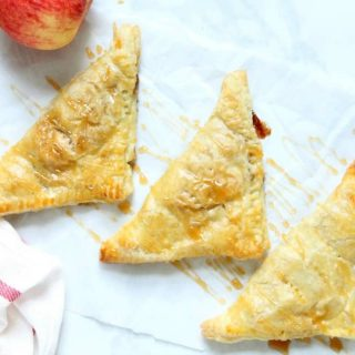Puff Pastry Apple Pie Turnovers