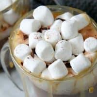 Salted Caramel Hot Chocolate Recipe