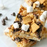S'mores Marshmallow Treats