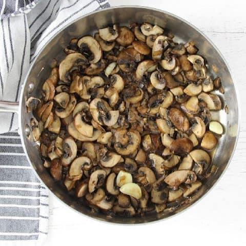 How To Sauté Mushrooms in pan