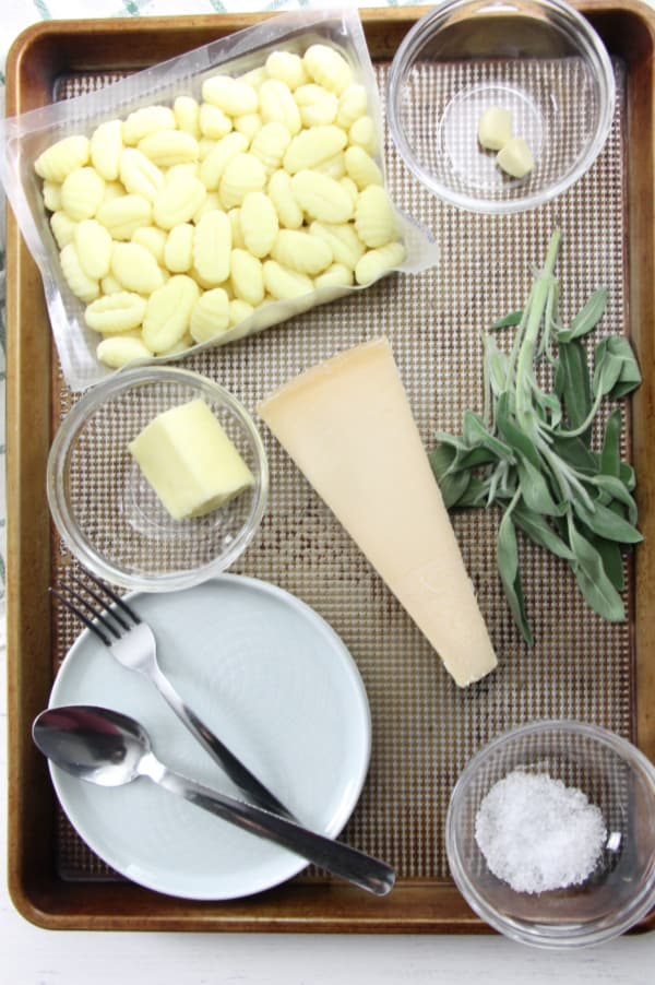 Sage Butter Gnocchi ingredients