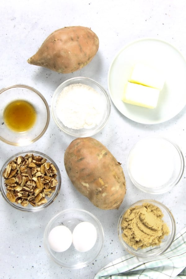 Easy Sweet Potato Casserole Ingredients