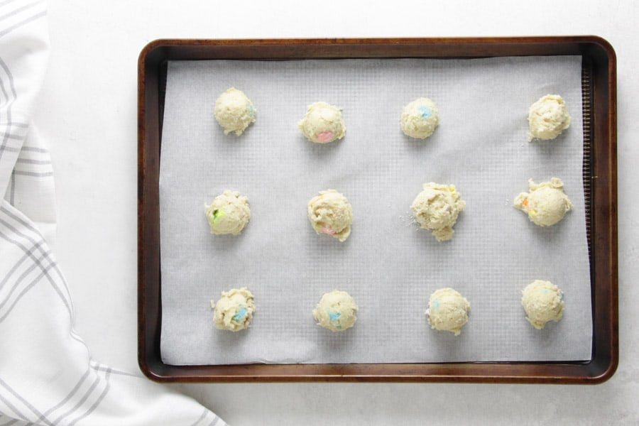 lucky charm cookies uncooked.
